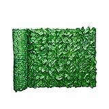 Foglia artificiale pannelli di recinzione dello schermo Hedge recinto privacy Rotolo parete abbellimento esterno giardino sul retro Balcone Fence 0.5x3m