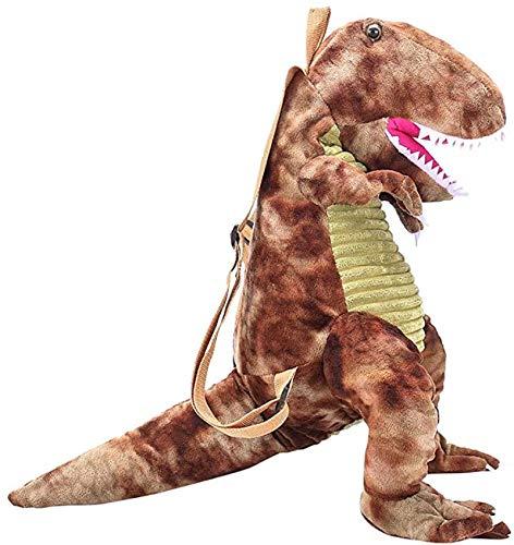 Weixia Kaufen Sie einen erhalten zehn Familienstil Rucksack Plüschtier Dinosaurier | Dinosaurier Plüsch Rucksack Größe 40 cm | Kindergarten Jungen und Mädchen Kinder Rucksäcke und coole Plüschtiere |