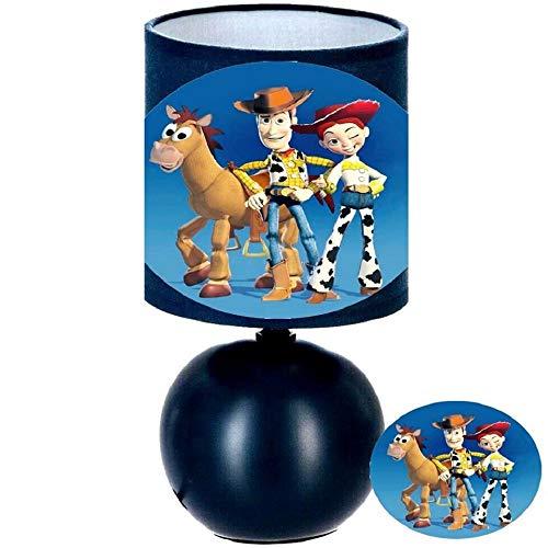 PRESENT Lampe de chevet TOY STORY 4 - création artisanale type serviettage N° 3