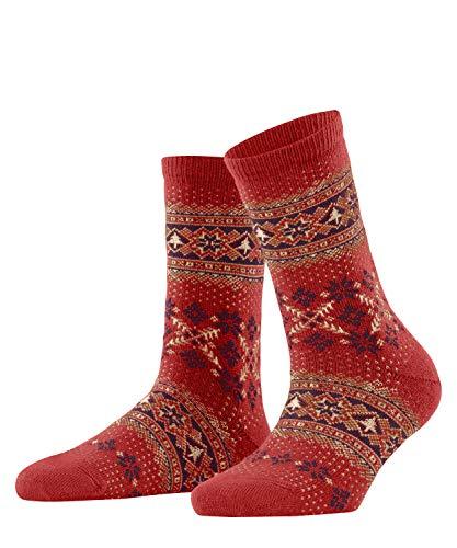 FALKE Damen Winter Holiday W SO Socken, Rot (Red 8784), 39-42 (UK 5.5-8 Ι US 8-10.5)