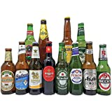 Round the World Premium Lager Mixed Case (12 Pack) – Includes Lager from 12 Different Countries - Perfect Gift for Father's Day