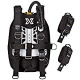 xDeep NX Zen Deluxe Scuba Diving BCD for Single Tank (Small Backplate, Aluminum - 2x10lbs Weight Pockets)