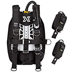 """Small backplate is perfect for divers below 5' 8"""" / 175 cm of height. Large backplate is for divers above 5' 8"""" / 175 cm of height. ZEN BCD wing is deliberately narrow so it enhances your buoyancy control and significantly reduces drag. Reduced drag ..."""
