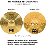 Immagine 1 meinl cymbals hcs16c hcs piatto