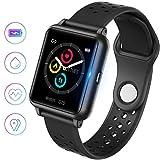 jpantech Montre Connectée Intelligente, Smartwatch...