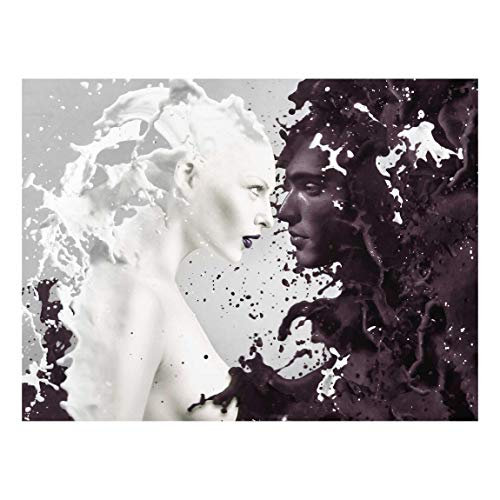 PPS. Imaging Kunstdruck auf Glas – Milk & Coffee – Kreuz 3:4 Druck auf Glas, Glasdruck, Glasbild, Wandbild, Glasbild, Wandbild, Glasbild, Glasbild, Wandbild, Maße H x B 70 x 100 cm