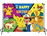 Cartoon Animals Photography Backdrop Animal Party Children Happy Birthday Supplies Party Banner (7x5FT)