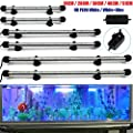 SUNICOL LED Aquarium Light, IP68 Cool White Waterproof Submersible Fish Tank Light for Living Room Restaurant Hotel (18cm) from SUNICOL