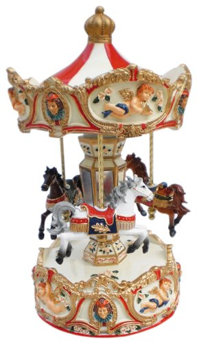 Spieluhrenwelt 14199 Großes Karussell Engel