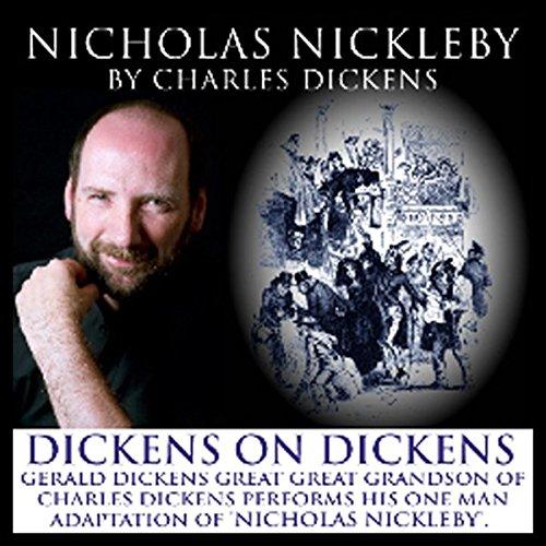 Nicholas Nickleby audiobook cover art