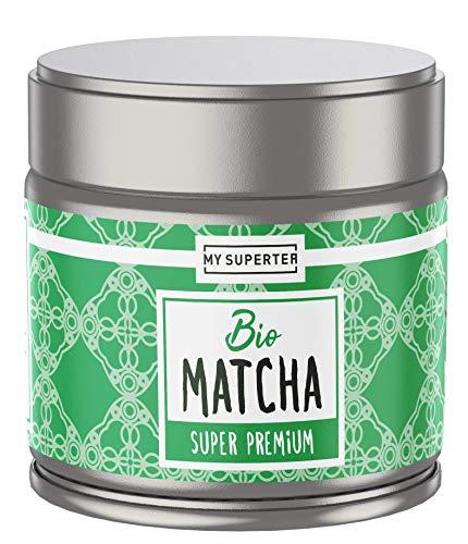 Bio Matcha Pulver - Super Premium I Spitzen Bio Matcha Tee aus Japan I 30 Gramm Premium Matcha Bio by MY SUPERTEA