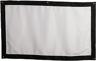 9 para El Hogar TOPmountain Pantalla De Proyector De 60 Pulgadas Cortina De Proyector 16:10 Compatible Pantalla De Proyector De Pel/ículas 16