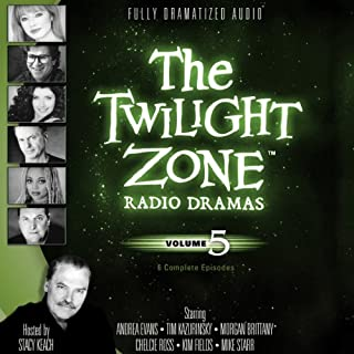 The Twilight Zone Radio Dramas, Volume 5                   By:                                                                                                                                 Rod Serling                               Narrated by:                                                                                                                                 full cast                      Length: 3 hrs and 53 mins     76 ratings     Overall 4.7