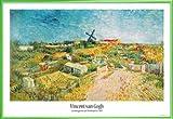 1art1 Vincent Van Gogh Poster und Kunststoff-Rahmen -