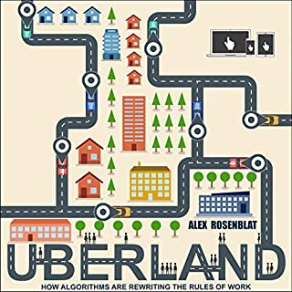 Uberland audiobook cover art