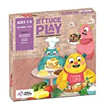 Chalk and Chuckles Lettuce Play- Picture Food Bingo, Matching and Memory Preschooler Game, Ages 3 - 6 Years Old, Educational Easter Gifts, Play Activities and Ideas for Kids