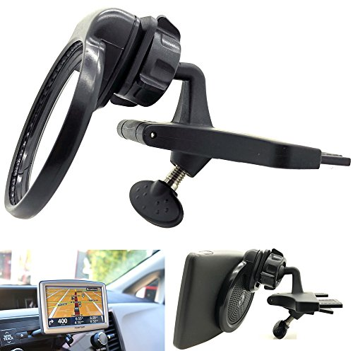ChargerCity Blade Car DVD/CD Player Slot Mount for Tomtom GPS 530 535 540 550 XL 330 335 340 350 n14644 Start 50 55 Navigator (Under Dashboard Viewing to Prevent Distractions) -  CD1+KLPJ2