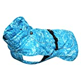 Rukka Pets - Cappotto, Taglia XXL, Colore: Turchese