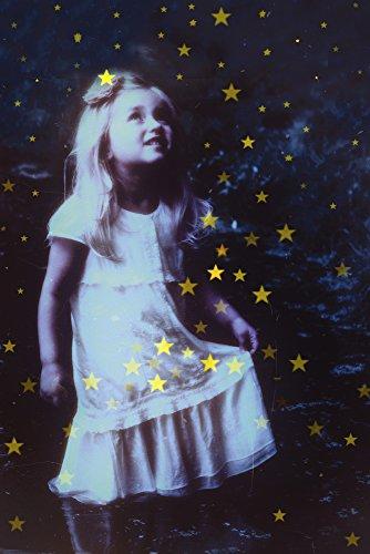 Artland Qualitätsbilder I Wandtattoo Wandsticker Wandaufkleber 20 x 30 cm Kindermotive Geschichten Märchen Illustration Blau C6KY Sterntaler