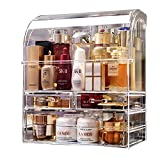 MOOCHI Professional Large Cosmetic Makeup Organizer Dust Water Proof Cosmetics Storage Display Case with Drawers Portable For Brushes Lipsticks Jewelry
