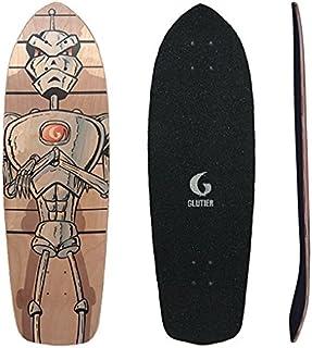 Glutier Surfskate Deck Villain Technologies 34 Sur...