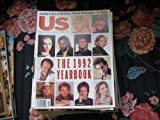 US Magazine (The 1992 Yearbook , Madonna , Denzel Washington , Pfeiffer , Stone , Brad Pitt, December 1992)