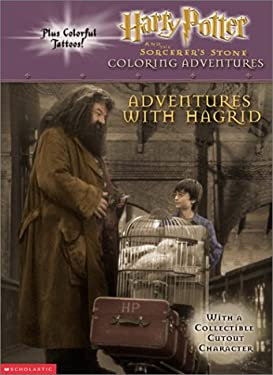 Harry Potter and the Sorcerer's Stone Coloring Adventure: Adventures With Hagrid