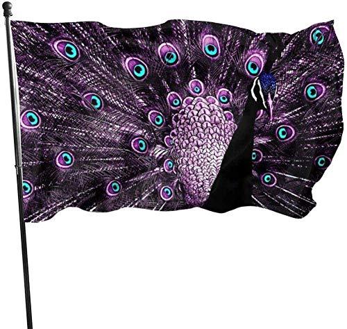 Lawenp Bandera de jardín Flagge/Fahne Banderas de jardín de Temporada para Exteriores Raquetas de bádminton Banderas de Patio Poliéster Duradero 3 x 5 pies