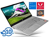 HP 15 (9LK80UA) Laptop, 15.6' HD Touch Display, AMD Ryzen 7 3700U Upto 4.0GHz, 12GB RAM, 256GB NVMe SSD, Vega 10, HDMI, Card Reader, Wi-Fi, Bluetooth, Windows 10 Home