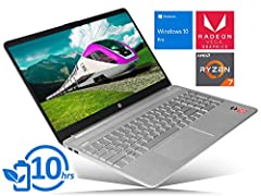PLEASE READ: **The manufacturer seal has been broken to meet the advertised specifications. Professional service installation included. HP 15 Laptop Computer with 15.6 inch HD (1366 x 768) Touchscreen and Windows 10 Pro—The same great Windows 10 expe...