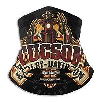 ネックウォーマー Harley-Davidson ハーレーダビッドソン スヌード ストール マジックスカーフ フリーサイズ 冬 防寒 防風 帽子 フェイスマスク