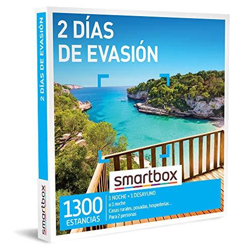 SMARTBOX - Caja Regalo - 2 días de evasión - Idea de Regalo - 1 Noche o 1 Noche con Desayuno para 2 Personas