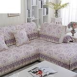 Sofa slipcover europeo,Fundas sofá antideslizante Tela Simple moderno Four seasons...