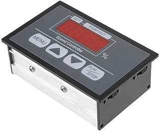 Sydien DC6-60V DC PWM Motor Speed Regulator Power Controller with LED Digital Display, Slow Start/Stop Revolving Speed Time Adjustable