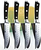 DALSTRONG Steak Knives - Set of 4 - Gladiator Series - Forged German ThyssenKrupp HC Steel w/Sheaths...