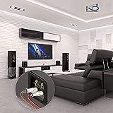 Zoom IMG-2 audiocrast 4 coppie 8 pezzi