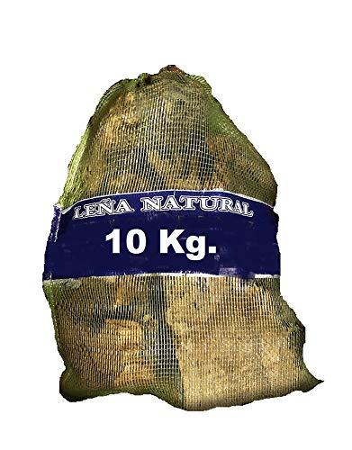 SACO LEÑA 10 KG. NATURAL LIMPIA OLIVO