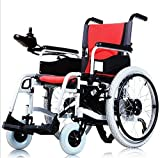 Electric Powered Wheelchair with Remote Control Handle