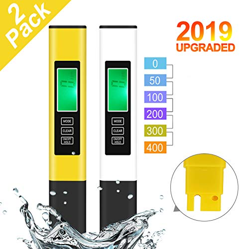 TDS Meter, 2 Pack Water Tester, Water Quality...