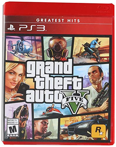 Grand Theft Auto V – PlayStation 3 – Standard Edition