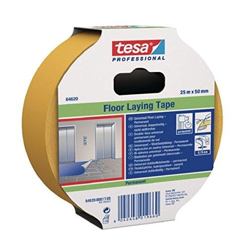 Tesa 64620-00017-05 64620-00017 dubbelzijdig plakband voor vloerbedekking