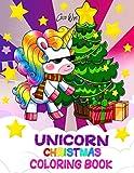 Unicorn Christmas Coloring Book: Cute Unicorn with Christmas Things Coloring Books for Kids