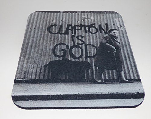 ERIC CLAPTON Is God COMPUTER MOUSE PAD
