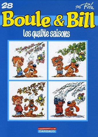 Boule et Bill , tome 28 : Les Quatre saisons !