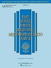 Easy Songs for the Beginning Mezzo-Soprano/Alto, Part 2 (Book & CD)