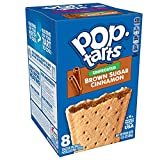 Pop-Tarts, Breakfast Toaster Pastries, Unfrosted Brown Sugar Cinnamon, Proudly Baked in the USA,  13.5 oz, Pack of 12