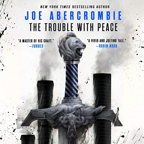 The Trouble with Peace audiobook cover art