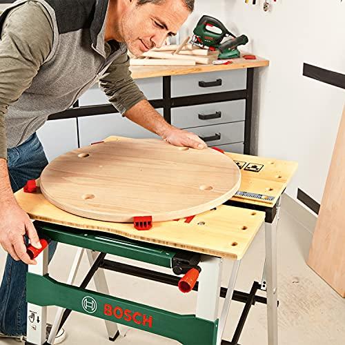 Bosch Arbeitstisch (mit 4x Spannbacken, Karton, max. Tragfähigkeit: 200 kg) PWB 600 - 3