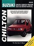 Suzuki Samurai/Sidekick/Tracker (86 - 98) (Chilton) (Chilton total car care) car trackers May, 2021