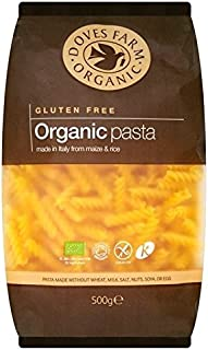 Doves Farm Gluten Free Organic Pasta Fusilli 500g - Pack of 6